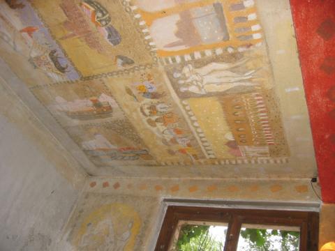 strappo dipinto murario_Zoran Music a Zurigo