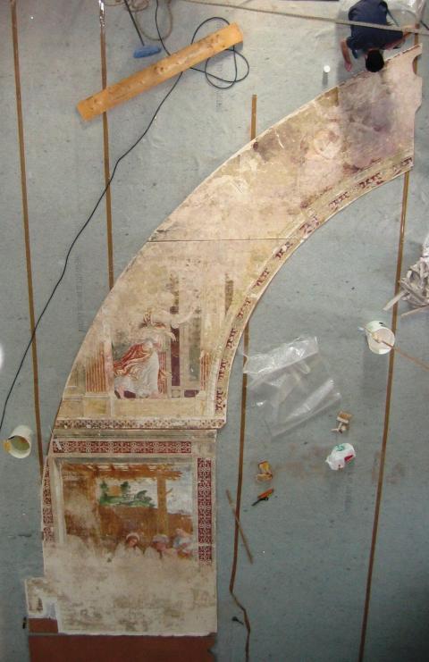 affreschi alla Chiesa Annunciata, Abbiategrasso MI